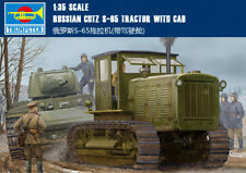 Russian Chtz S-65 Tractor With Cab 1/35 tank Trumpeter model kit 05539