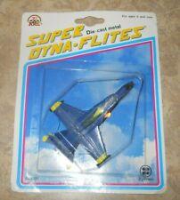 Super Dyna-Flites Diecast Model Boeing/McDonnell-Douglas F/A-18 Blue Angels