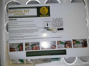 Nayoya 24pc Cupping Set Therapy Massage EUC