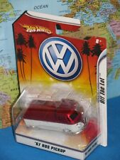 1/50 HOT WHEELS 1967 VOLKSWAGEN BUS PICKUP '67 OFF THE LOT BRAND NEW OLD STOCK