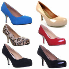 Stiletto Strappy, Ankle Straps Med (1 3/4 to 2 3/4 in) Heel Height Heels for Women