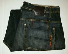 Pepe Jeans London Mens Size 40 x 33 Baggy Loose Fit Hip Hop Dark Faded Denim