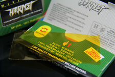 5 x Hornet Transparent  GOLD Cigarette Cellulose Rolling Paper 75*35MM
