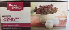 Better Homes and Gardens bowl, salt & pepper shaker NEW!! Brand New Providence