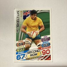 Topps Rugby Attax Card 2015 #25 Will Skelton Australia Second Row Power Player