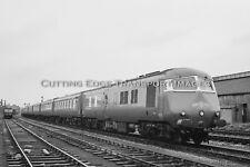 35mm Railway Negative: WR Blue Pullman, Location Unknown 1960s            29/104