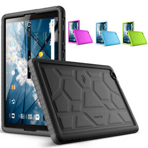 Poetic Silicone Case For ZTE AT&T Primetime Tablet Soft Gel Protective Cover