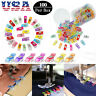 100Pcs Magic Wonder Clips For Fabric Craft DIY Quilting Knitting Sewing Crochet