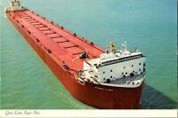 GREAT LAKES SUPER SHIP THE STEWART J. CORT POSTCARD