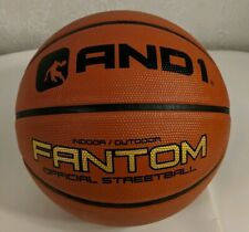 """And1 Fantom basketball 9"""" Official Streetball Indoor/Outdoor Orange"""
