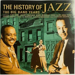 THE HISTORY OF JAZZ TV SERIES 4 CD SET *** NEW ***