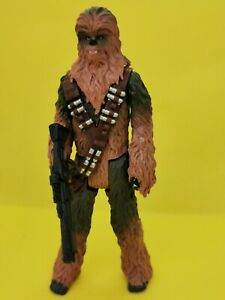 Star wars Chewbacca Action Figure with Blaster Rifle 3.75 scale - SOLO -