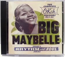 BIG MAYBELLE THE COMPLETE OKEH SESSIONS 1952-55 CD 26 TRACKS RHYTHM & SOUL NM!!