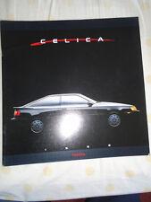 Toyota Celica GAMA FOLLETO 1988 EE. UU. del mercado de gran formato
