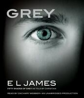 Grey : Fifty Shades of Grey As Told by Christian by E. L. James (2015, CD,...12