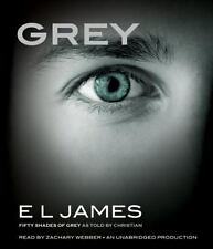 Grey by E L James (50 Shades of Grey as told by Christian) (16 compact discs)