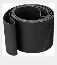 "4"" X 106"" S/C150 Grit Glass Sanding Belt (Qty. 5 Belts)"