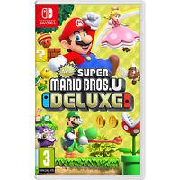 New Super Mario Bros U Deluxe - Nintendo Switch - Import Region Free
