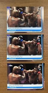 2019 Topps Chrome UFC Champion Francis Ngannou #55 (LOT OF 3) | MINT| INVEST