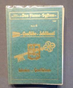 Das Flume - System Band 4, Flume - Großuhr - Schlüssel, Wecker & Großuhren 1957