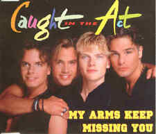 CAUGHT IN THE ACT - My arms keep missing you 4TR CDM 1995 / EURODANCE /ZYX Music