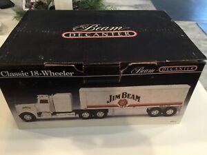 JIM BEAM 18 WHEELER DECANTER-BRAND NEW