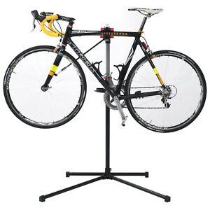 Bike Repair Stand Folding Bicycle Cycle Display Maintenance Adjustable Workstand