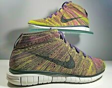 NIKE FREE FLYKNIT CHUKKA MULTI COLORED SHOES 639700-501 US 12