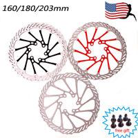 MTB Bike Disc Brake Rotor 160/180/203mm 2PC 6-Hole Disc Rotor Fit SHIMANO SRAM