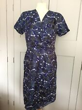 "1950's Wiggle Dress 40""B 32"" W 12/14 VOLUP true Vintage Garner Pin Up"