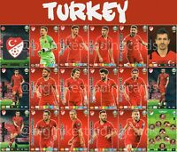 PANINI ADRENALYN XL UEFA EURO 2020 TURKEY FULL 18 CARD TEAM SET - EUROS