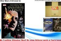 STAR WARS # 8 NM COVER A & B  11/4/2020 PRE-SALE Marvel Comics