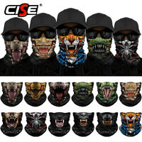 Neck Gaiter Balaclava Breathable Face Mask Windproof Pirate Star Skull Neck Warmer Scarf for Outdoor Sports Anti-Dust Marks