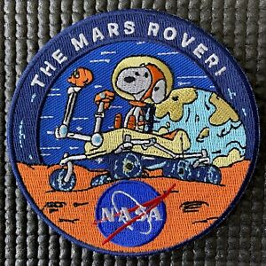 "NASA JPL - MARS PERSEVERANCE ROVER - PATCH - 3.5"""