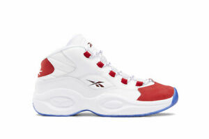 NEW REEBOK Question Mid Pre-School Unisex White Basketball Sneakers FY2268 (PS)