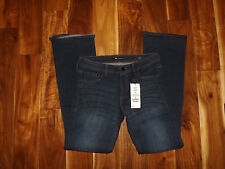 NWT Womens !It Collective Marty Corset Slim Boot Cut Dark Wash Jeans Size 10