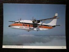 POSTCARD SHORTS SD360 OF JERSEY EUROPEAN AIRWAYS