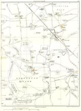 YORKSHIRE.Mill Wood,Stapleton Park,Cridling,Sod Wall,Brockadale,Stubbs 1935 map