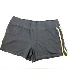 Danskin Now Womens Size L 12/14 Gray Exercise Workout Running Shorts