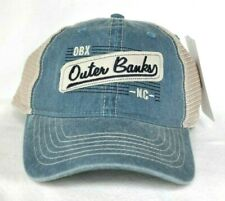 *OUTER BANKS NORTH CAROLINA* Dirty Wash Trucker mesh Ball cap hat *OURAY* sample