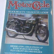 Motor Cycle Magazine Velocette Venom Brooklands July 1989 071817nonrh2