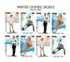 Guyana - 1997 - Winter Olympics - Sheet Of 8 - MNH