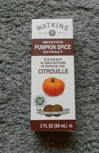 Watkins Pumpkin Extract 2 oz