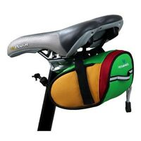 ROSWHEEL Cycling Bicycle Mountain Bike Saddle Seat Bag Outdoor Pouch Waterproof