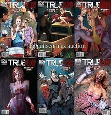 B comic set TRUE BLOOD VII tainted love 1 2 3 4 5 6 HBO IDW SOOKIE STACKHOUSE NM