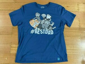 Family Guy  - Best Dad Ever T-Shirt 6XL - New Without Tags Official Licensed