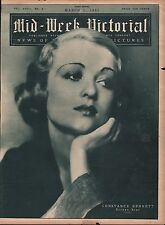 1931 Constance Bennett - Screen Star Pictured On Cover