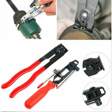 2Pcs CV Joint Boot Clamp Banding Tool And Cutter Ear Type Boot Clamp Pliers NEW