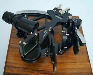 Vintage Tamaya Nautical Sextant W/Box Navigational Instrument Reproduction