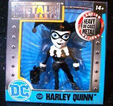 JADA Toys HARLEY QUINN DC Comics Exclusive Metal Die Cast Action Figure M389 MIB